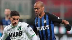 Stefano Sensi Joao Mario Inter-Sassuolo