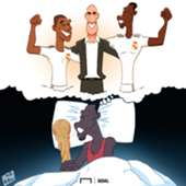 Cartoon: Pogba dreams of Madrid