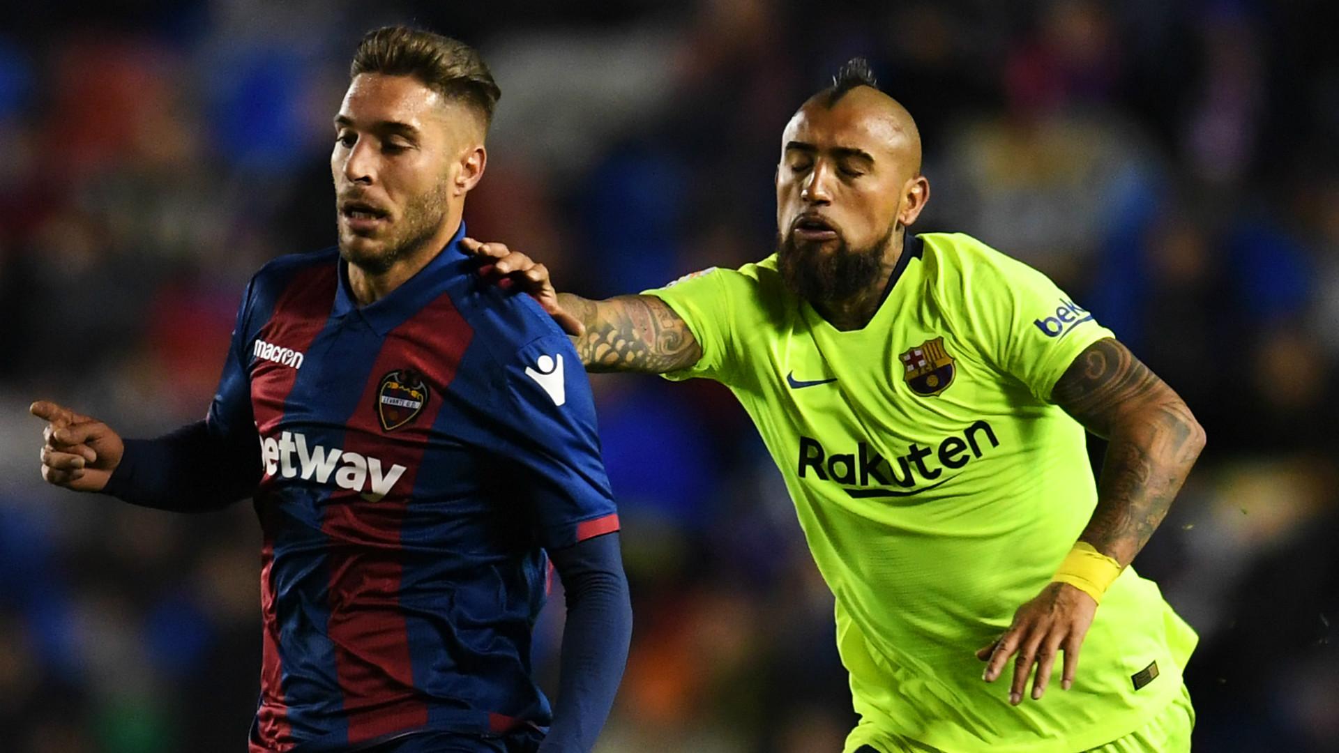 Levante Barcelona Copa del Rey 2018-19