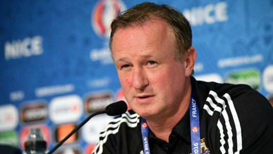 Michael O'Neill Northen Ireland 11062016