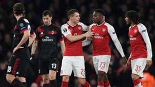 Arsenal-Milan Danny Welbeck Europa League