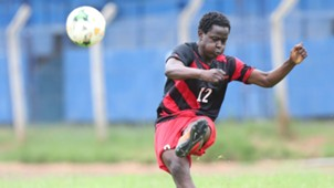 Harambee Stars defender Erick Ouma.
