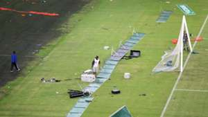 Moses Mabhida Stadium vandalised