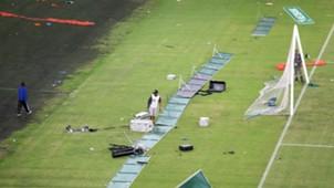 Moses Mabhida Stadium vandalised