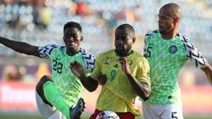 Kenneth Omeruo, Bahoken, Ekong - Nigeria vs. Cameroon