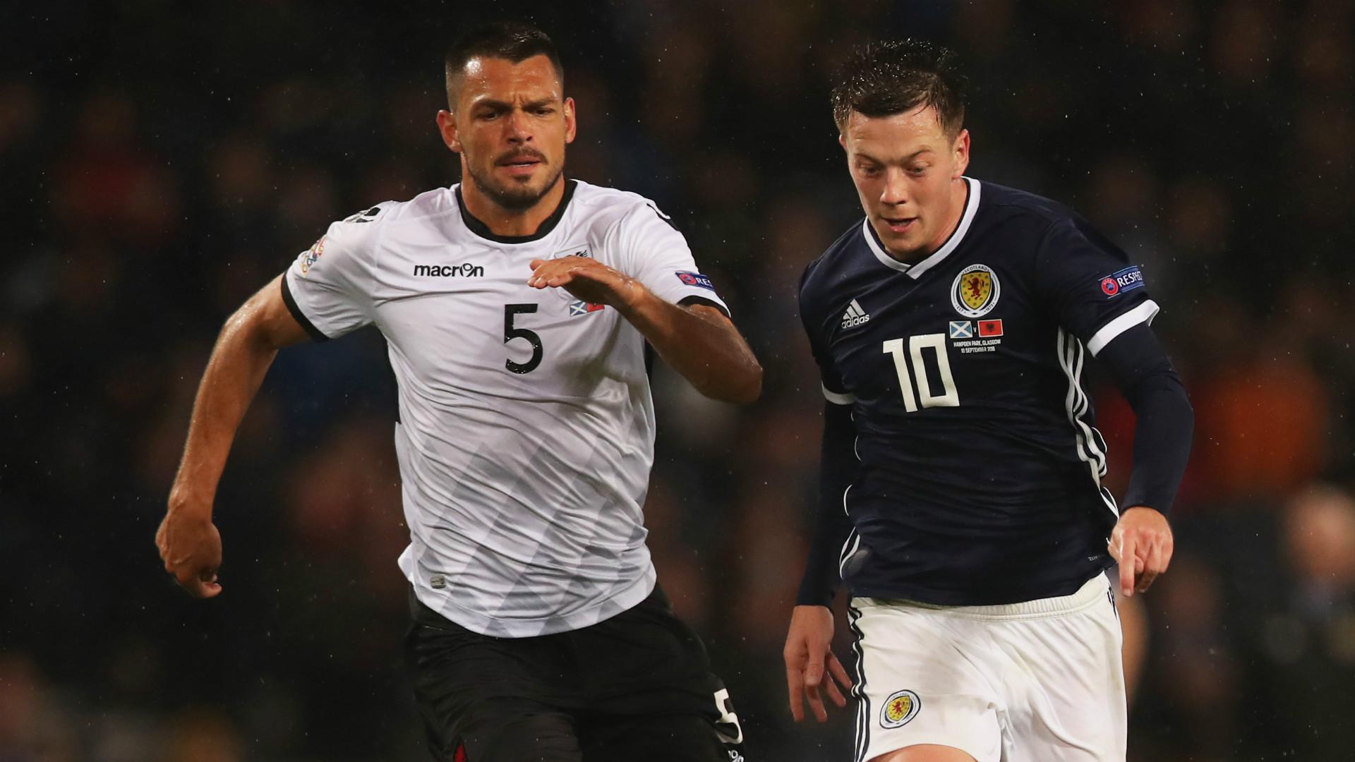 Callum McGregor Scotland 2018-19