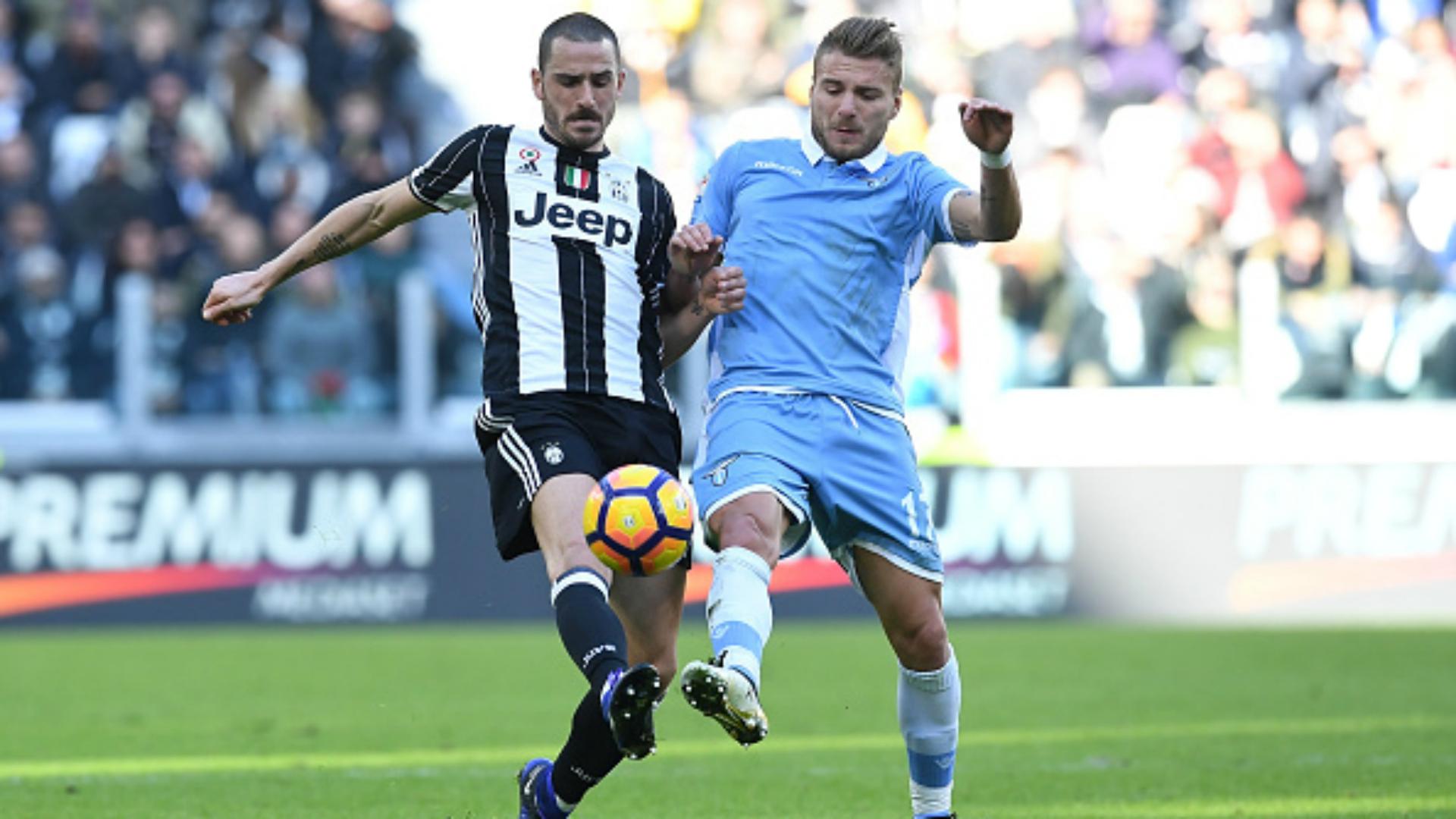 Leonardo Bonucci Ciro Immobile Juventus Lazio Serie A