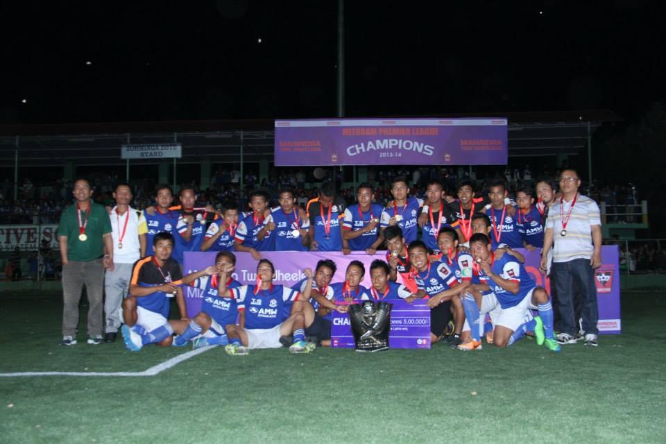 Chanmari FC Mizoram Premier League 2013