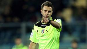 Nicola Rizzoli arbitro Serie A