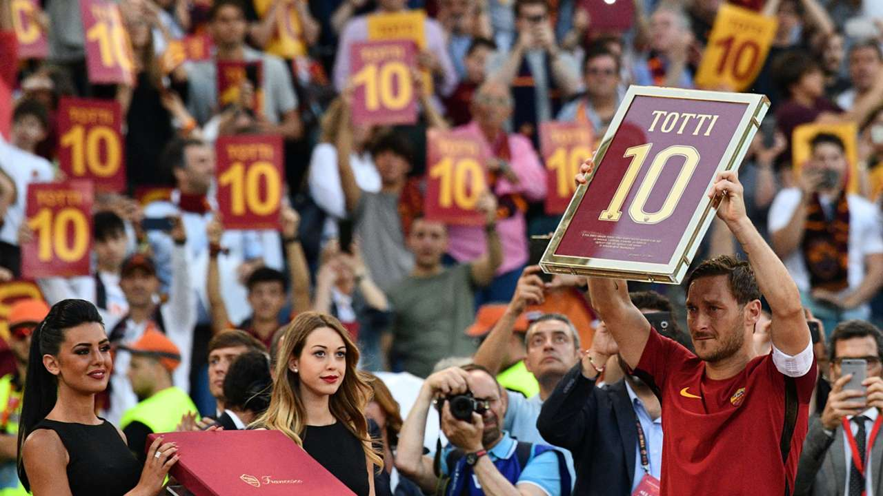 Francesco Totti AS Rom Serie A 052817