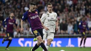 Jordi Alba Real Madrid FC Barcelona Clasico 27022019
