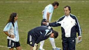Bielsa. Sorin. Copa America 2004 Brasil Argentina