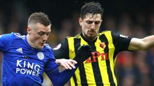 Craig Cathcart Jamie Vardy Watford Leicester