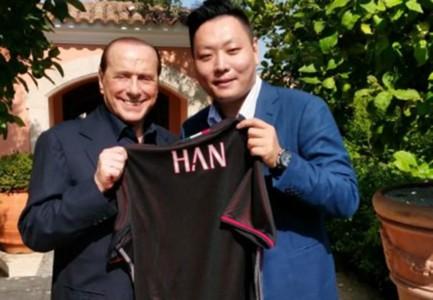 Silvio Berlusconi Han Milan