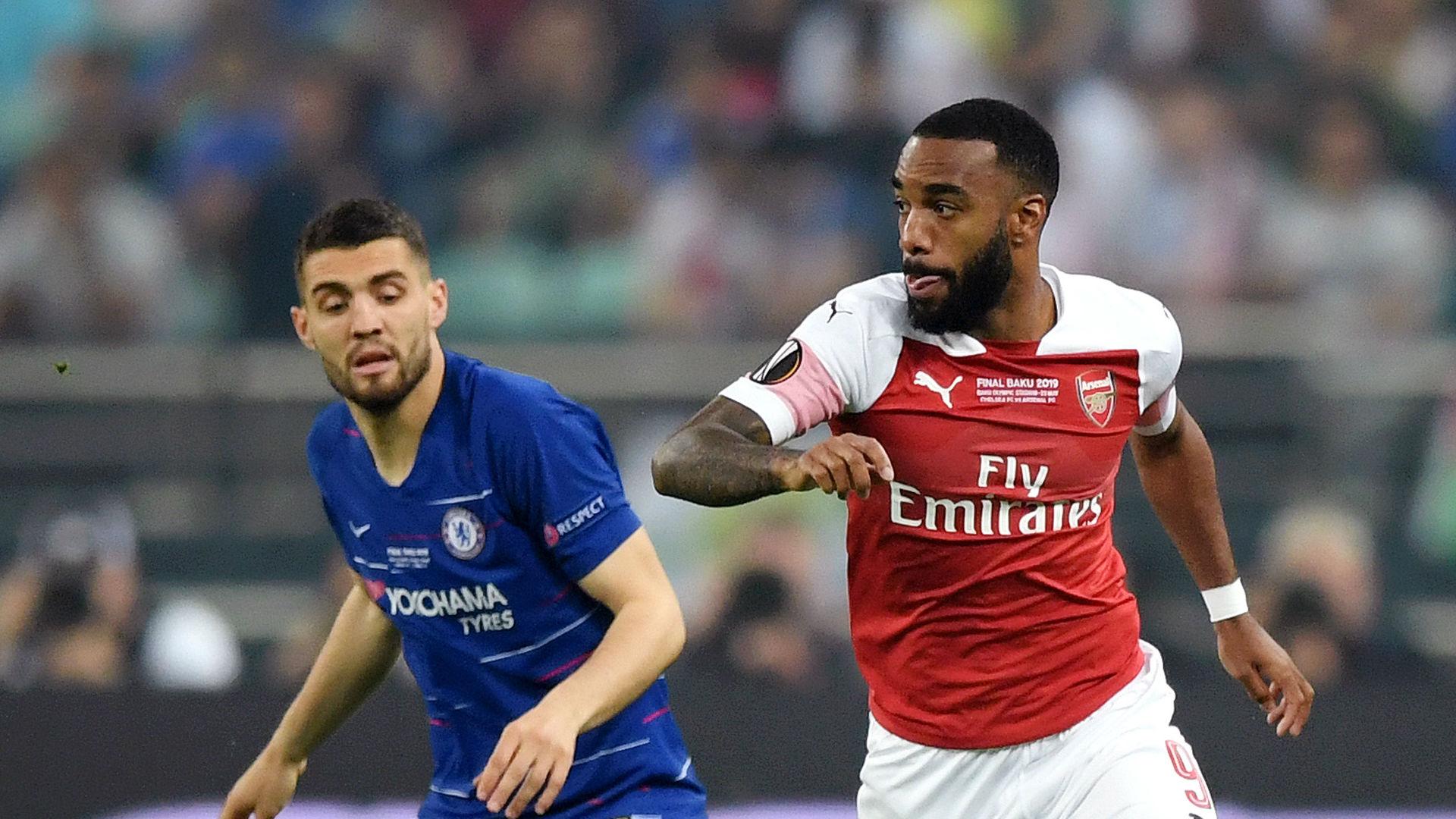 Lacazette Kovacic Arsenal Chelsea Europa League final 2019