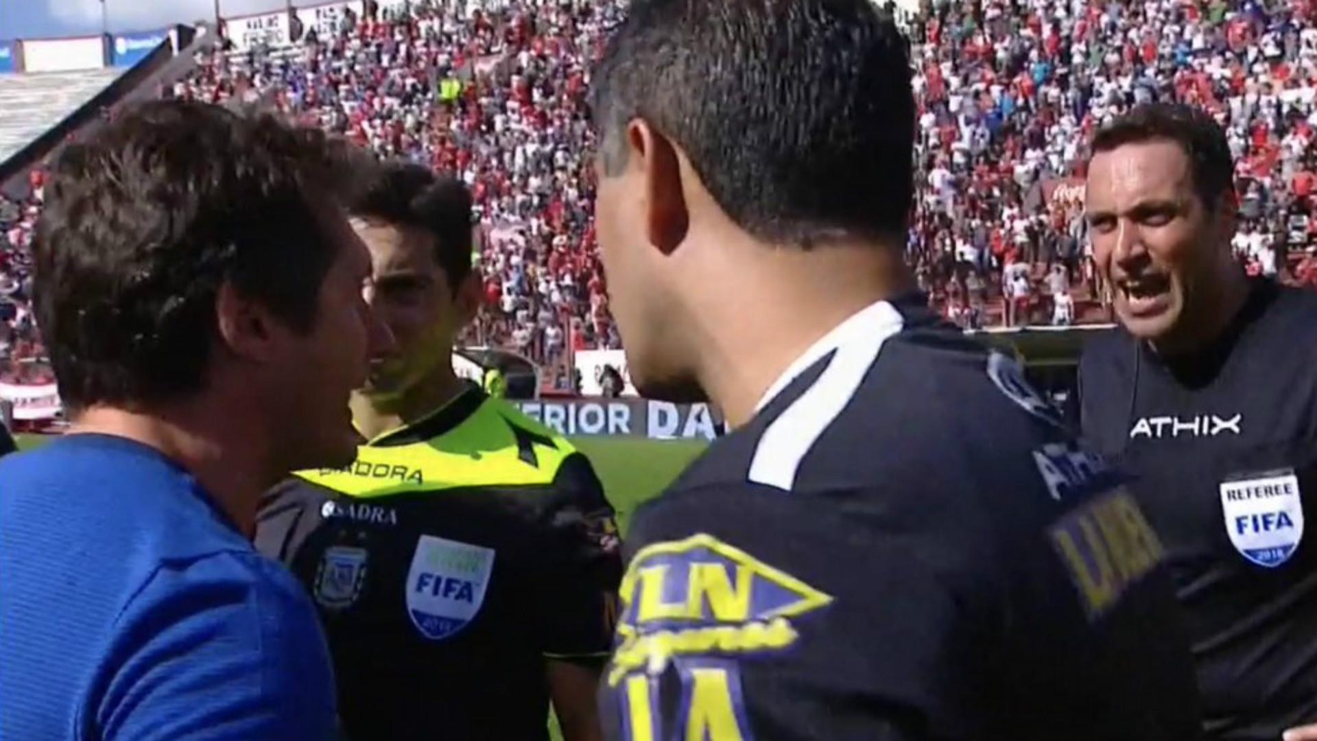 La bronca de Guillermo con Rapallini:
