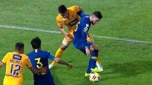 Captura TV Boca Central Supercopa Nandez 020519