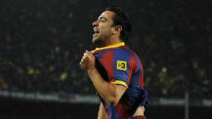 Xavi Barcelona Real Madrid 2010