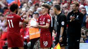 Mohamed Salah Ben Woodburn Liverpool