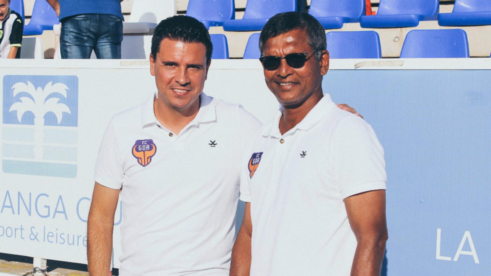 Sergio Lobera Derrick Pereira FC Goa ISL