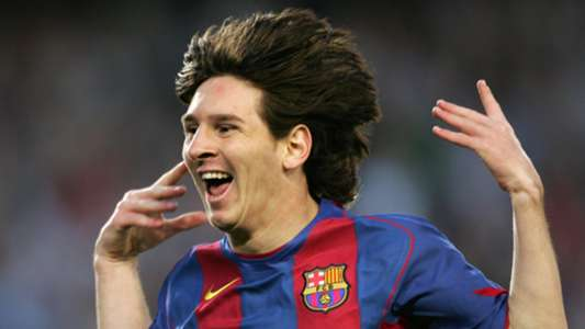 Young Lionel Messi Barcelona