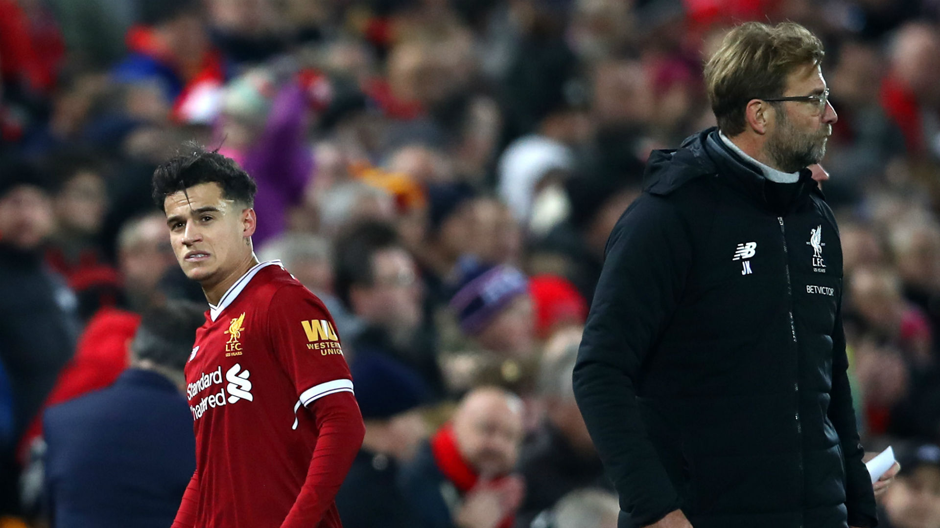 Jurgen Klopp: Liverpool players aren't distracted by Coutinho hype