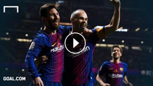Messi Iniesta Playbutton