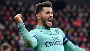 Sead Kolasinac Arsenal 2018-19