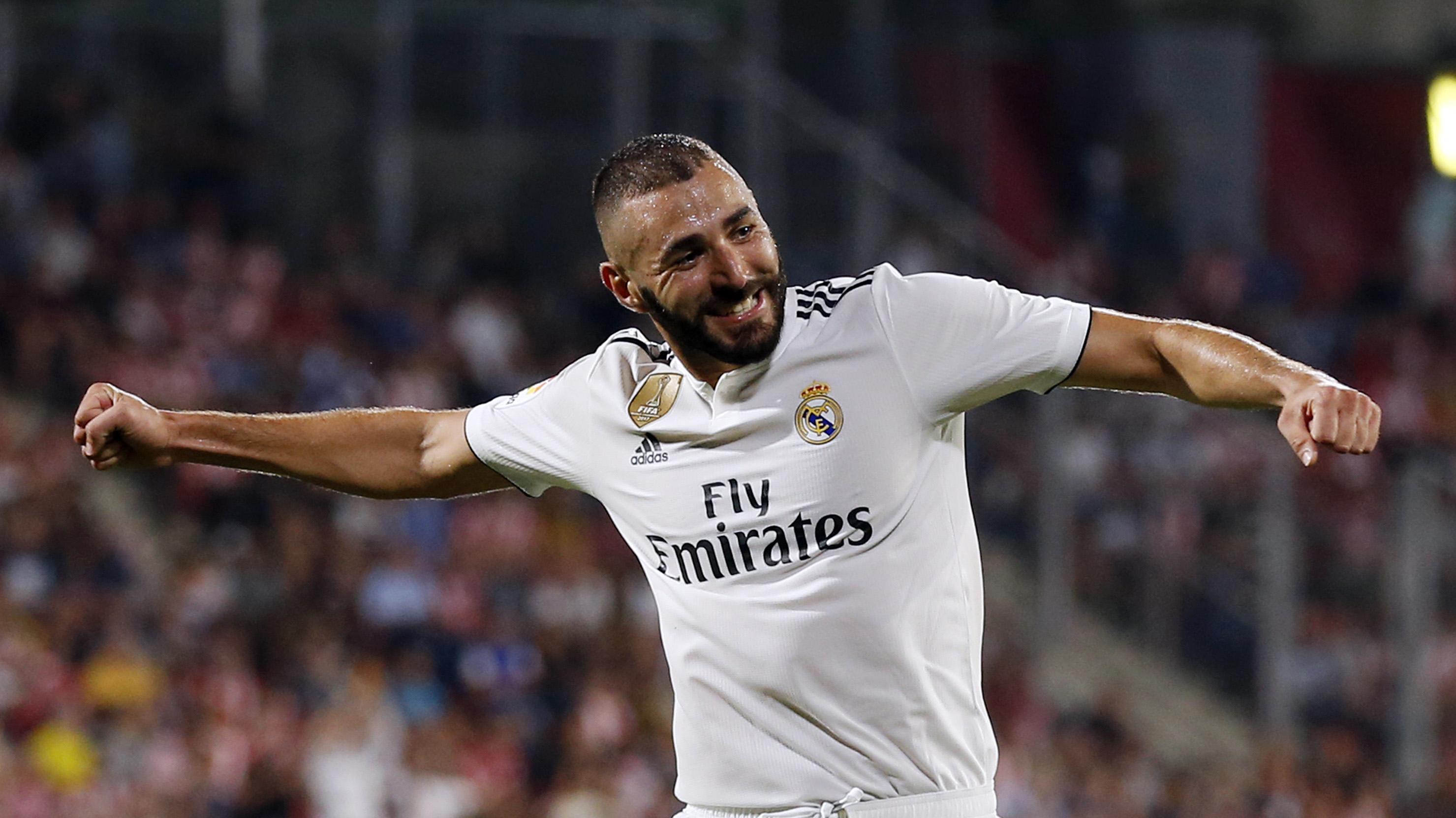 Karim Benzema Real Madrid Girona