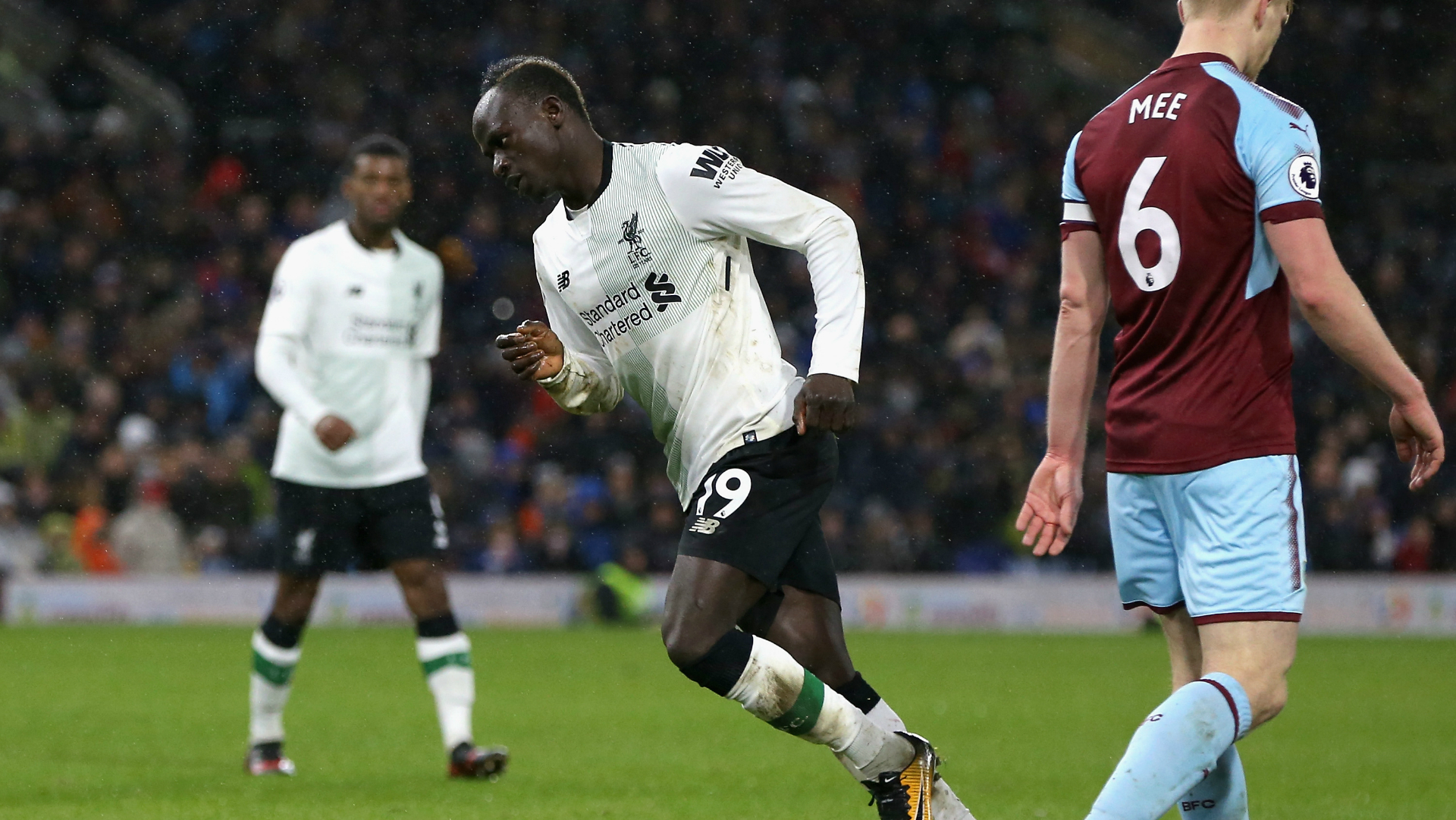 Sadio Mane Liverpool Burnley