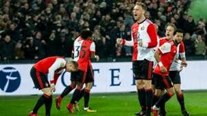 Nicolai Jorgensen, Feyenoord, KNVB Beker 01312018