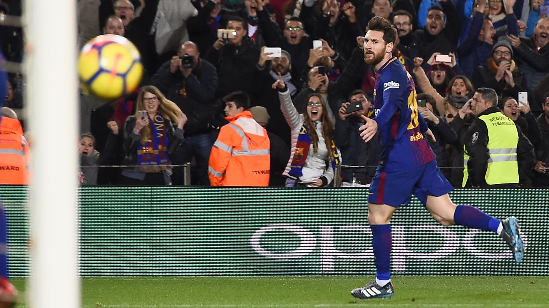 Lionel Messi FC Barcelona 28012018