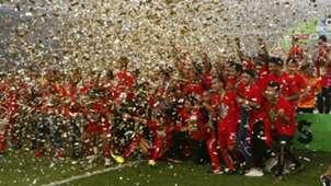 Selebrasi Persija Juara Liga 1 2018