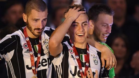 Bonucci Dybala Juventus