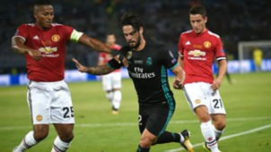 Antonio Valencia Isco Alarcon Real Madrid Manchester United UEFA Supercup