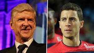 Arsene Wenger, Eden Hazard split