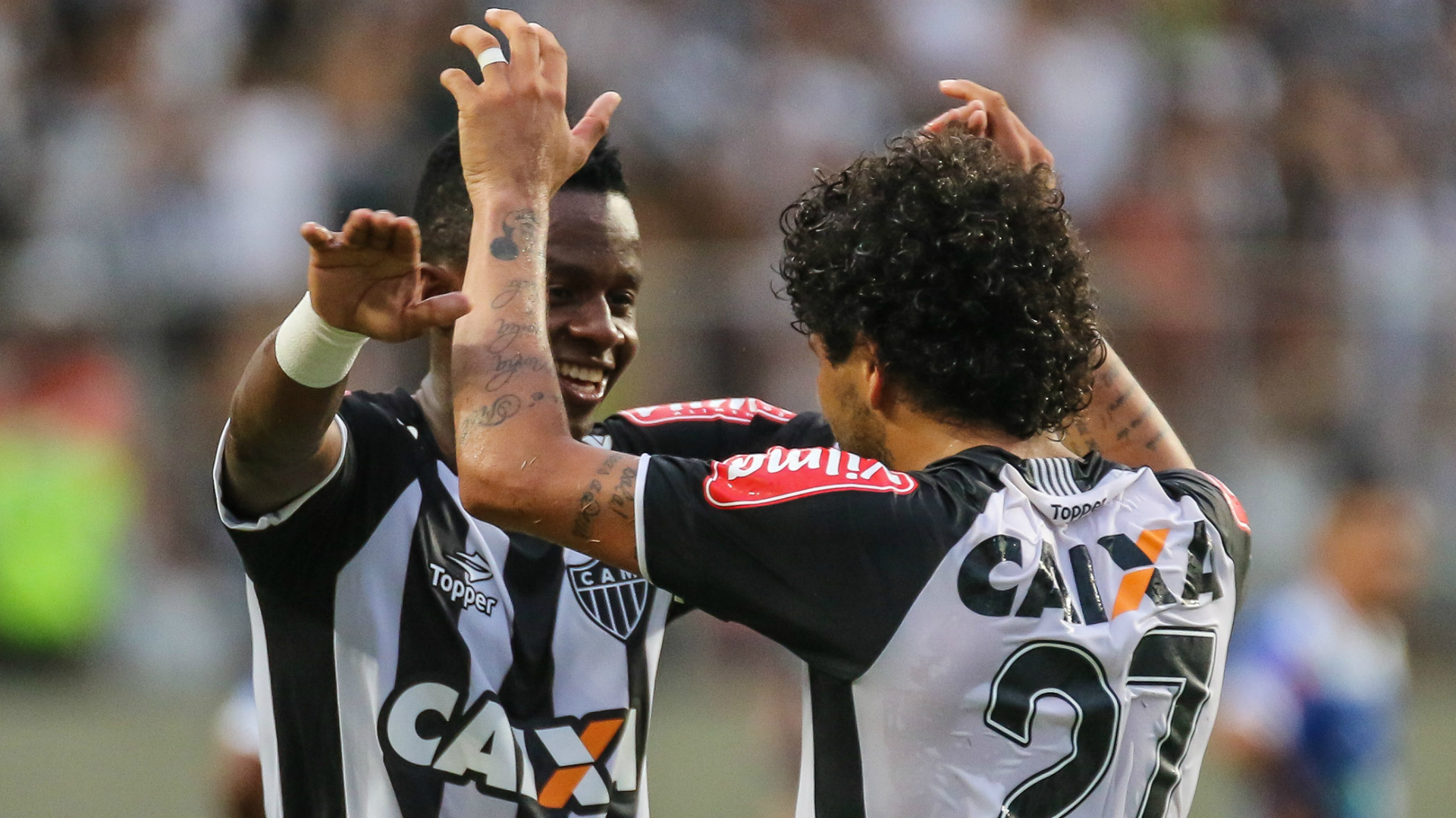 Luan Éder Aleixo Juan Cazares Ronaldinho Atlético-MG URT Campeonato Mineiro 26032017