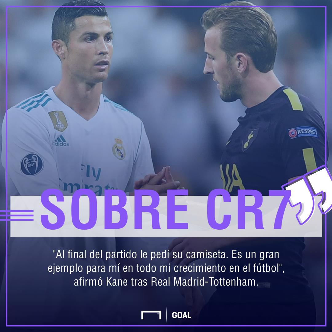 Kane, sobre Ronaldo ps