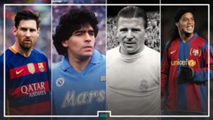 أبرز وأشهر من ارتدوا القميص رقم 10 في تاريخ أندية كرة القدم