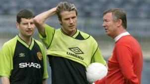 Alex Ferguson David Bekcham