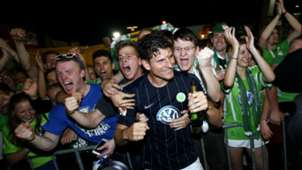 Mario Gomez Wolfsburg celebration