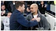 Guardiola Pochettino Tottenham Manchester City Champions League
