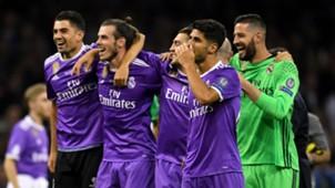 Real Madrid celebrates Champions League Final 060317