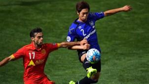 Nikola Mileusnic Genta Miura Adelaide United v Gamba Osaka AFC Champions League 22022017