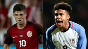 Christian Pulisic Weston McKennie 05272018