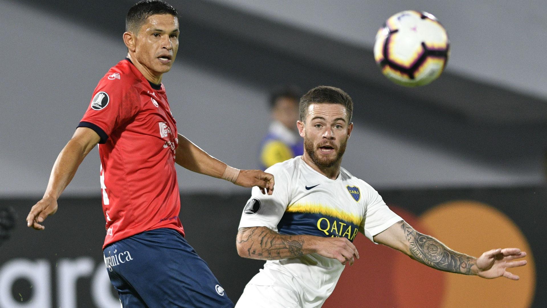 Nahitan Nandez Jorge Wilstermann Boca Copa Libertadores Grupo G 05032019