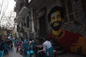 Mohamed Salah graffiti
