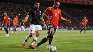 Mateo Kovacic Dani Carvajal Spain Croatia 11092018