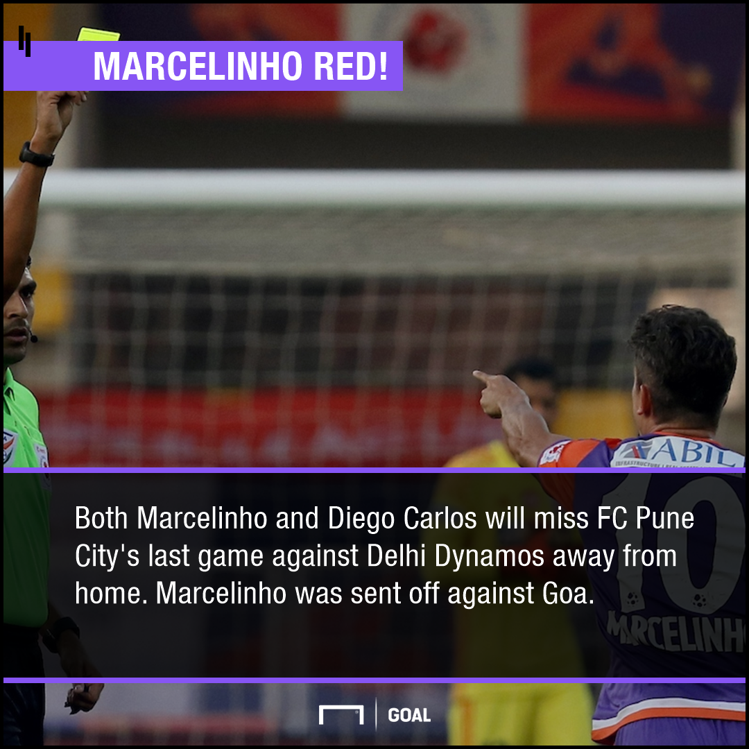 Marcelinho PS FC Pune City ISL