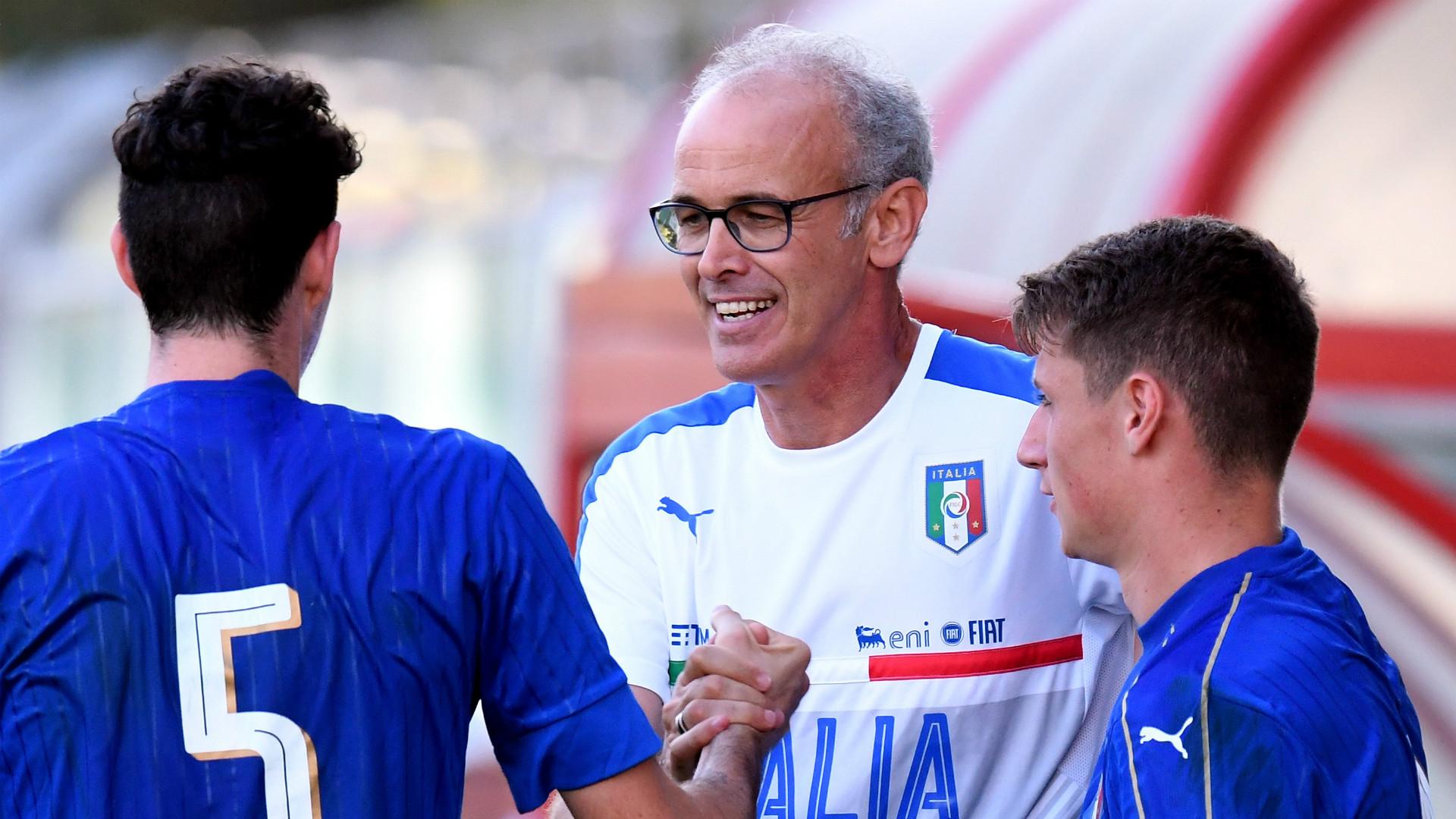 Paolo Nicolato, Italy U19, 2017-2018